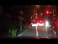偽物の警察車両でDQNを追い詰めていく車載映像